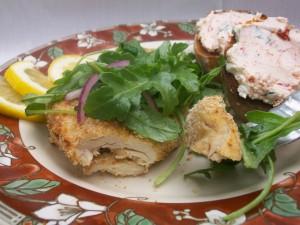Chicken Milanese with Arugula Salad | Gina Marie's Kitchen