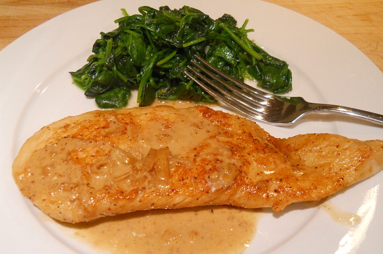 Chicken with Mustard Cream Sauce1
