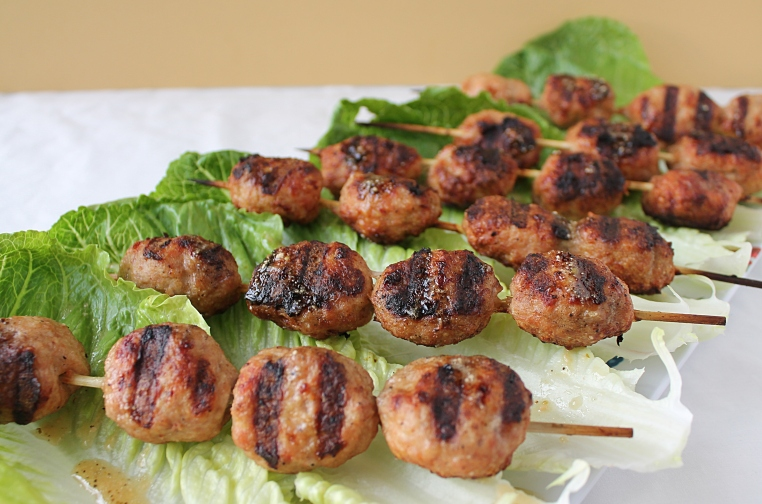 Chicken Ceaser Kabobs